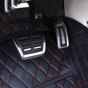 Image 5 - Car Accelerator Gas Brake Pedal Clutch Pedals Cover For VW Golf 7 GTi MK7 Seat Leon 5F MK3 Octavia A7 Rapid Audi A3 8V Passat