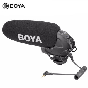 Image 3 - BOYA BY BM3031 מיקרופון Supercardioid הקבל ראיון קיבולי מיקרופון מצלמה וידאו מיקרופון עבור Canon Nikon Sony DSLR למצלמות