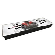 Caja de Control de juego Arcade joystick 30mm/24mm botón metal y acrílico carcasa de consola vacía para DIY consola de juegos Pandora