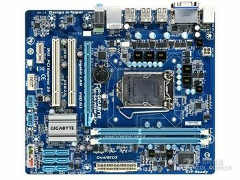 цена на Motherboard for Gigabyte GA-H55M-S2V DDR3 LGA 1156 H55M-S2V USB2.0 DVI Tested