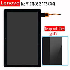 "Original 10.1"" Touch screen Digitizer Assembly LCD Display For Lenovo Tab M10 TB-X505F TB-X505L TB-X505X ZA4G0078US ZA4H0021SE(China)"