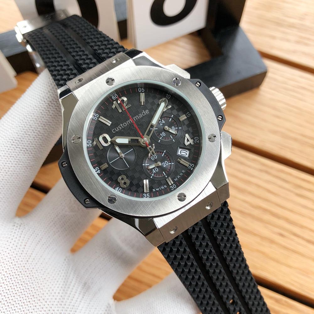 Men's Luxury Sports quartz watch Automatic Mechanical Watch sapphire glass Watch Retro Watch