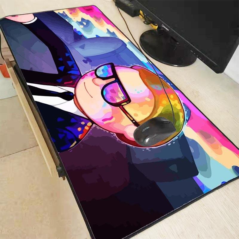 Купить mrgbest персонализированный коврик для мыши в стиле аниме morty