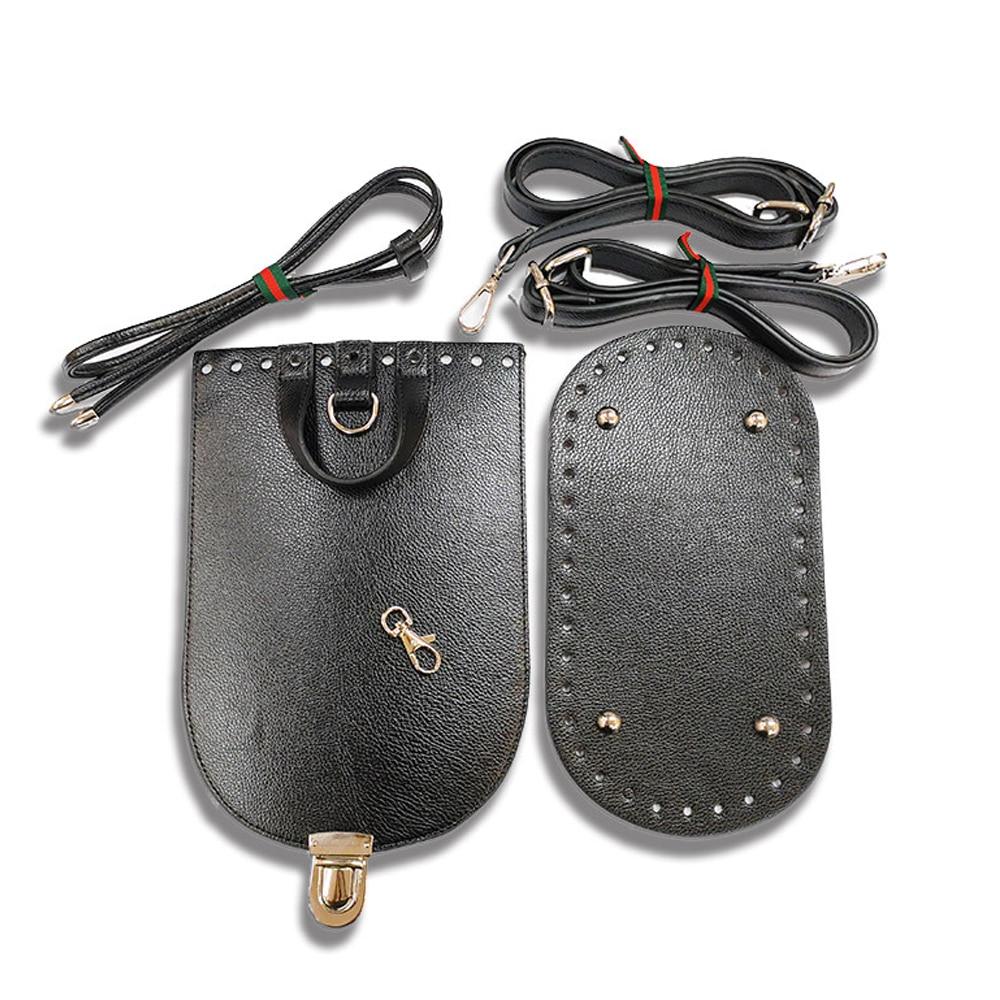 Kzfashion Bag Bottom Flap Cover Hardware Package Accessories For Bags Diy HandBag Shloulder Straps For Diy Women Backpack
