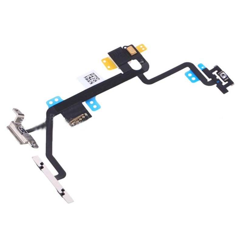 KiKiss Power Button On Off Flex Cable For iPhone 8 Mute Volume Switch Connector Ribbon Replacement Moile Phone Parts
