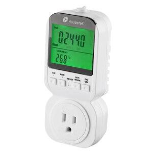 Image 5 - Thermostat Timer Switch, Houzetek 20 ON/OFF Programmer Digital Timer Automatic Temperature Electric Socket US Plug