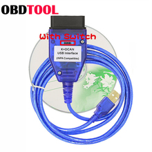 INPA K+CAN K+DCAN with Switch Car Fault Detection Diagnosis Line Brush Hidden Suitable for BMW Vehicle INPA EdiabasUSB Interface