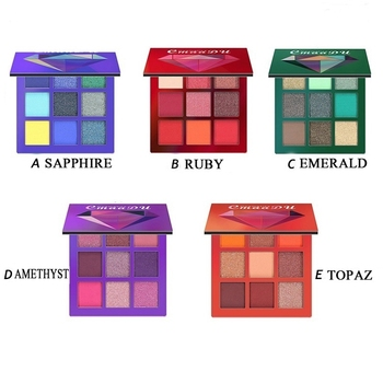 Beauty Colors Shimmer  Glazed Pressed Palette Glitter Eyeshadow Waterproof Makeup Matte Eye Shadow Pigment Palette 2