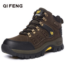2021 Couples Outdoor Mountain Desert Climbing shoes. Men Women Ankle Hiking Boots, Plus Size Fashion Classic Trekking Footwear