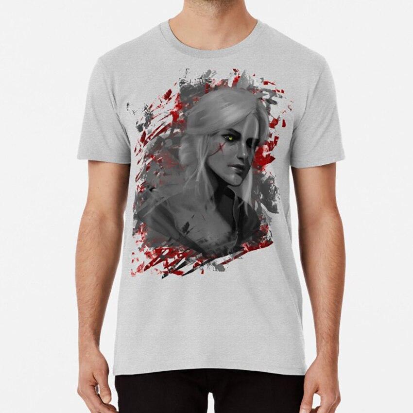 Ciri T camisa kratos funda digitales arte conceptart arte digital digitalart del Dios de la guerra, videojuegos juegos