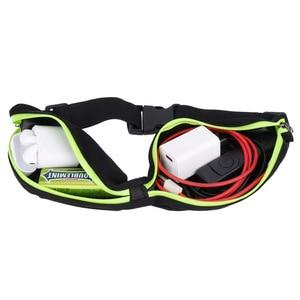 Image 3 - กีฬากระเป๋าเอวกระเป๋ากระเป๋า Jogging แบบพกพากันน้ำขี่จักรยานกระเป๋า Bum กลางแจ้งโทรศัพท์ Anti Theft Pack กระเป๋าเข็มขัด #2