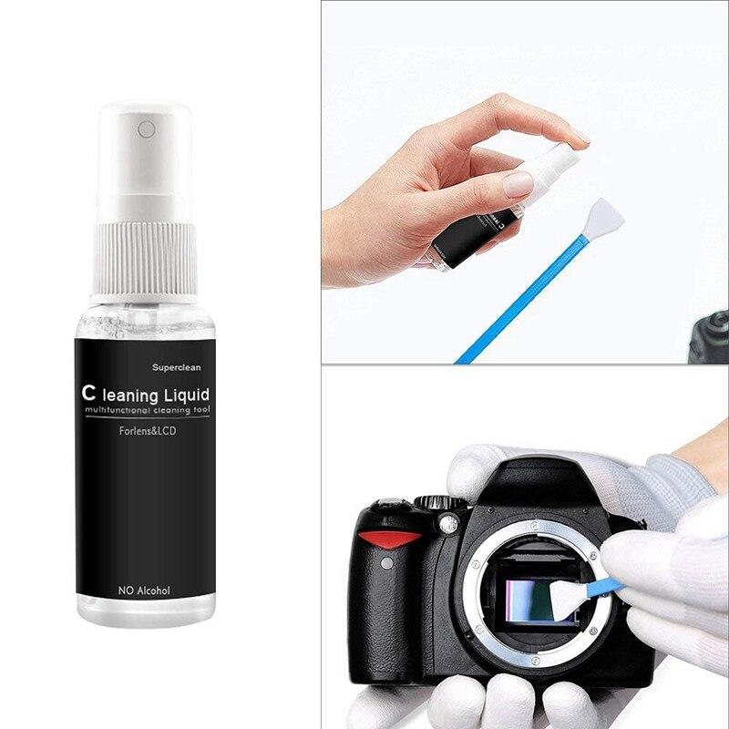 câmera digital ferramenta limpa