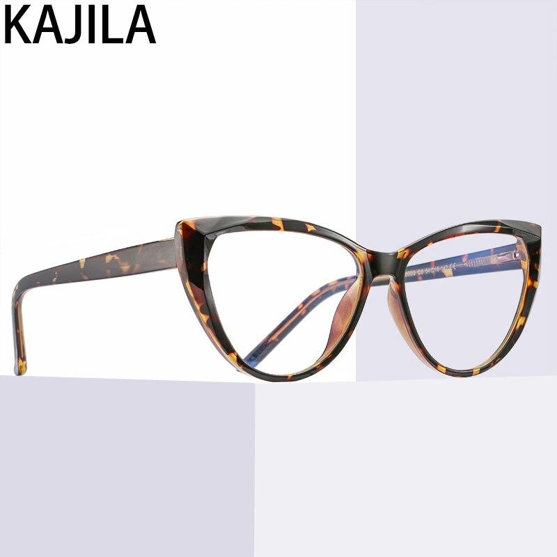 Computer Glasses Frame Women TR90 Spring Flat Mirror Eyewear Anti Blue Light Glasses For Woman Lunettes De Lecture Pour Homme