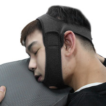 Neoprene Anti Snore Stop Snoring Chin Strap Belt Anti Apnea Jaw Solution Sleep Support Apnea Belt Sleeping Care Tools Black Blue