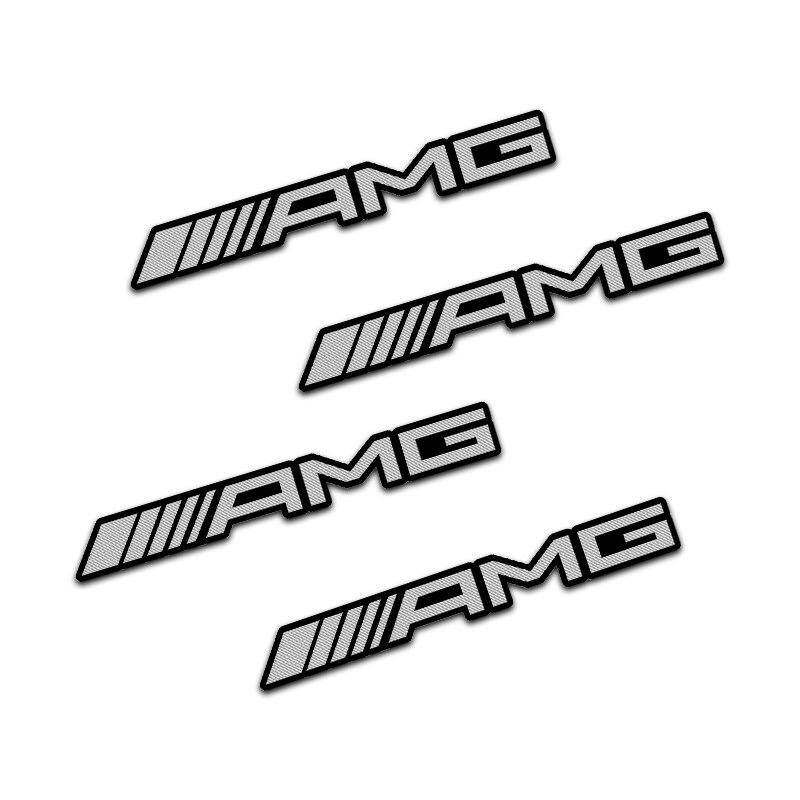 4pcs Excellent car styling car audio decorate for MERCEDES BENZ AMG W463 W176 W211 W204 W210 W203 CLA GLA GLK Car Accessories-3