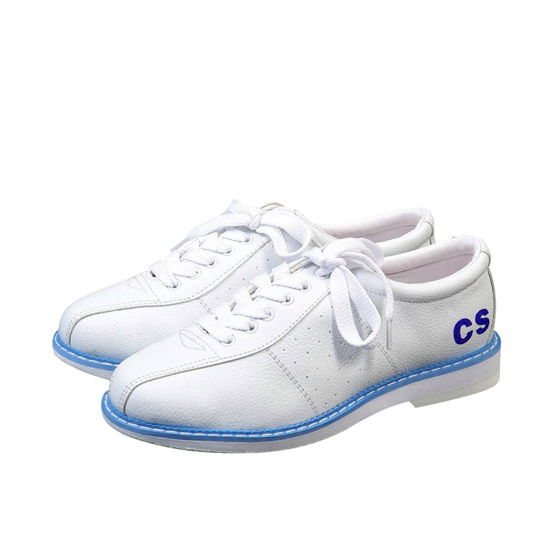 White Bowling Shoes For Men Sports Unisex Beginners Bowling Women Shoes Vogue Sneakers Sports Goods Entertainmen