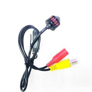 Image 2 - AHD 1080P מיני מצלמה HD Bullet מצלמה מתכת דיור BNC יציאת עבור CCTV AHD DVR מערכת