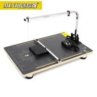 MINIQ 220V Board Hot Wire Styrofoam Cutter Foam Cutting Machine Working Table Tools
