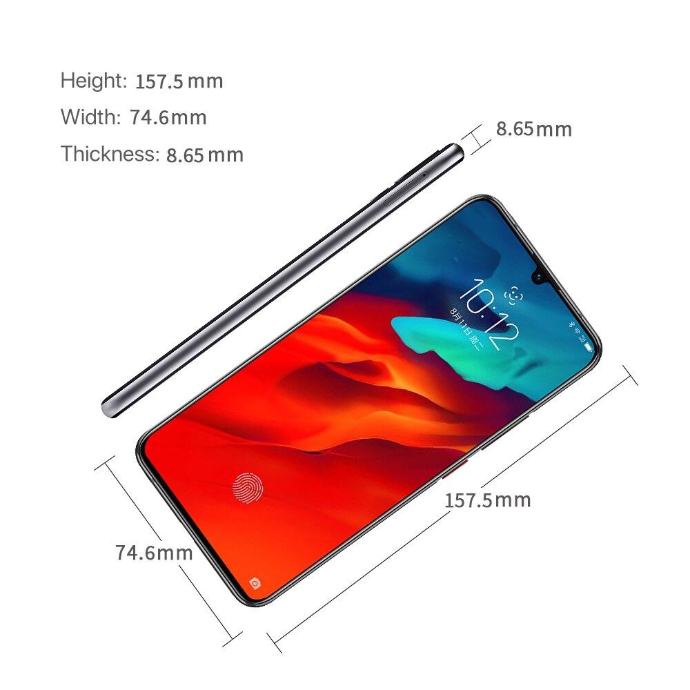 best price lenovo z6 pro snapdragon 855 octa core 6gb 8gb 128gb global rom smartphone. Black Bedroom Furniture Sets. Home Design Ideas