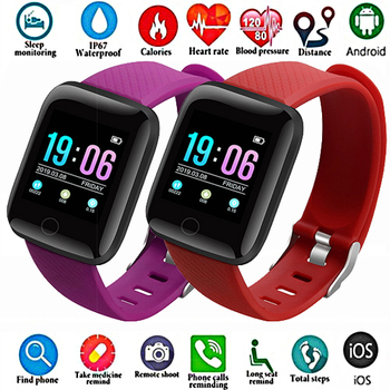 HOT SALE Smart Couple Watch Large Screen The Mens' Watch Pedometer Bluetooth Heart Rate Sleep Monitoring Children Women Watches