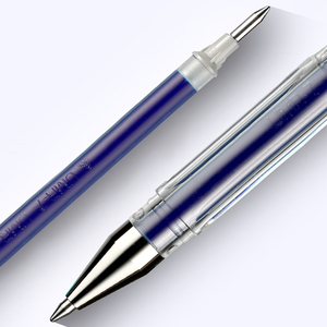 Image 2 - 10 Pcs/Lot Uni ball Signo Dx Um 100 Gel Ink Pen 0.5 mm Uni Mitsubishi  Black/Blue/Red