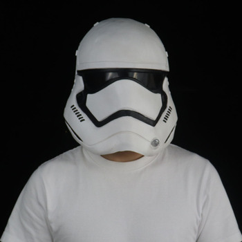 Stormtrooper Star War Helmet Mask Cosplay Imperial Army Latex Masks Halloween Costume Props frankenstein horror mask cosplay latex masks helmet halloween party costume props