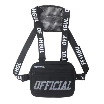 Man Hip Hop Vest Tactical Crossbody Streetwear Chest Bag Men Waist Packs For Women 2019 Travel Punck Chest Rig Vest Waist Bag