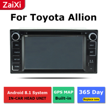 ZaiXi 2Din For Toyota Allion Premio 2007~2018 Car Android Radio Multimedia Player GPS Navigation IPS Screen HiFi WiFi BT