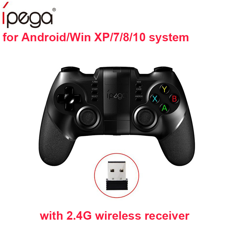 Ipega PG-9076 PG 9076 Gamepad Bluetooth Game Controller with 2.4G Wireless Receiver Joystick Android Game Console Player for iOS