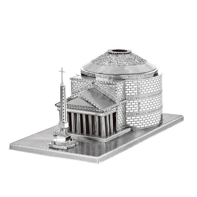 Architecture 3D Metal Puzzles World  4
