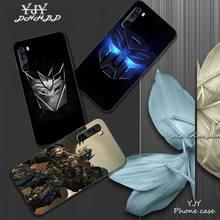 Transformers Soft TPU Black Case Cover For Xiaomi