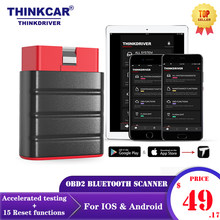 LAUNCH Thinkdriver Bluetooth OBD2 Scanner automobile OBD 2 IOS voiture lecteur de Code de Diagnostic OBD Android Scanner Easydiag 4.0 PK Thinkdiag AP200(China)