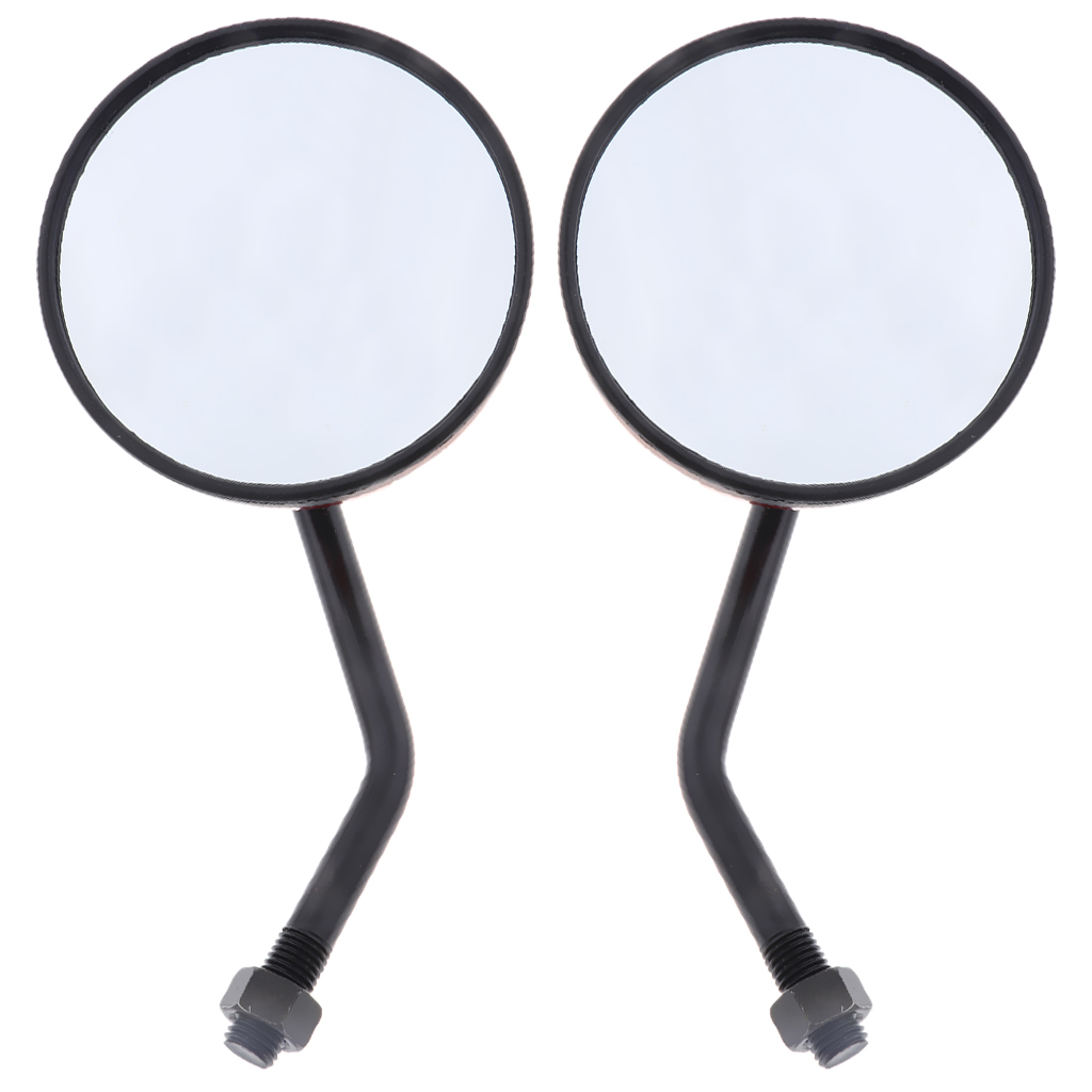 1 Pair Motorcycle 17cm Rear View Mirror Universal for Motorbike Dirt bike ATV Moped Scooter