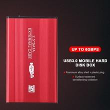 Disk Case-Box SATA3.0 External-Hdd Aluminum-Alloy USB for PC