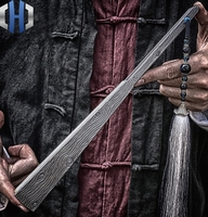Ten inch Fusang Titanium Alloy EDC Folding Fan Steel Bone Tactics Kung Fu Taiji Martial Arts Metal Weapons Defense
