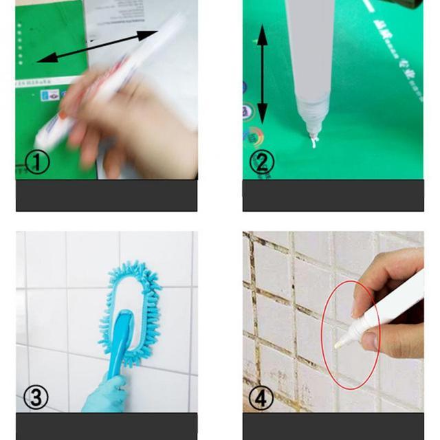 New Arrival odporna na wodę naprawa płytek kuchennych natychmiastowa fuga Pen Anti mold Professional