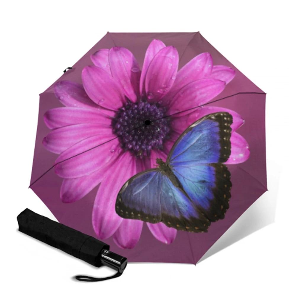 BUTTERFLY UV-protective sun parasol