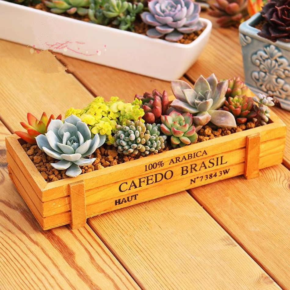 Strongwell Antike Holz Tisch Kleinigkeiten Container Kosmetik Organizer Schmuck Lagerung Box Home Decor Holz Schmuck Halter