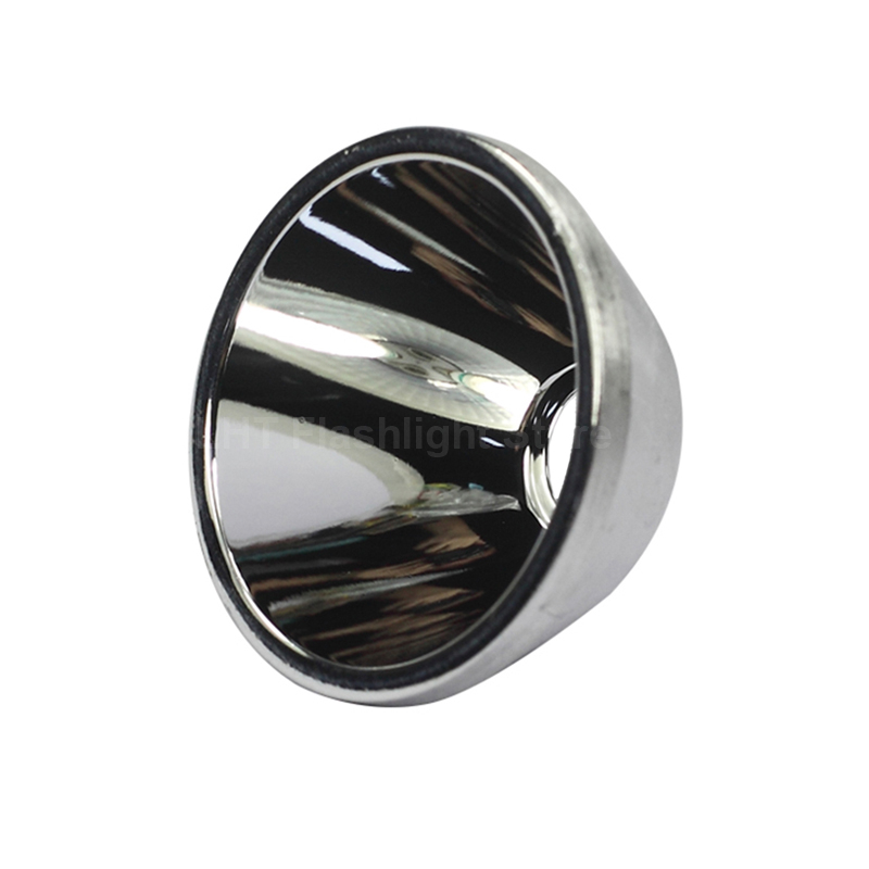 36mm (D) X 19.5mm (H) SMO Aluminum Reflector For Cree XM-L