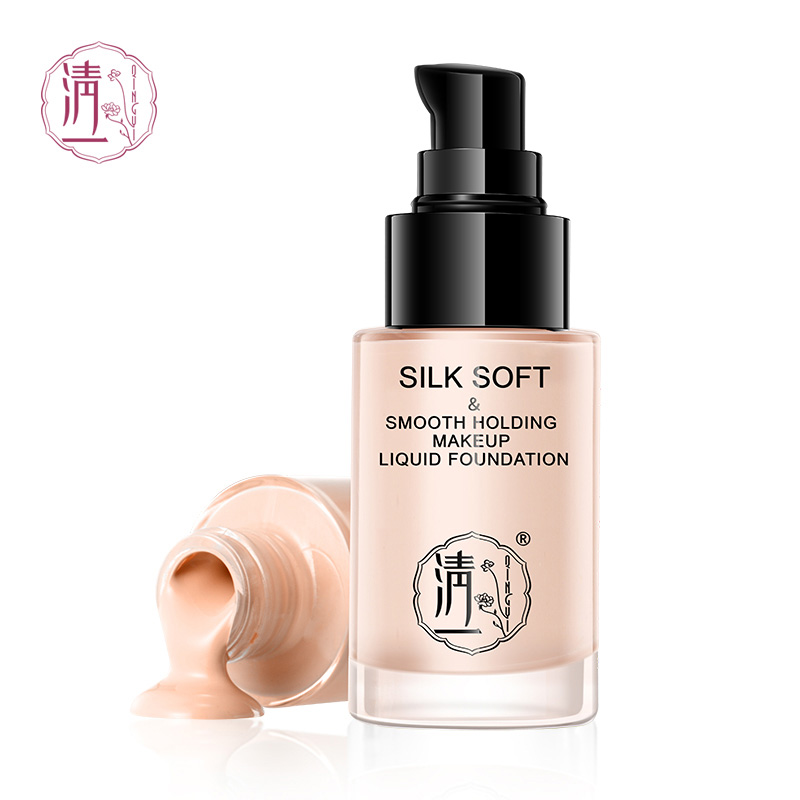 Foundation Makeup Liquid Matte Moisturizer Face Base High Coverage Brighten Concealer Cream Fond De Teint HZP052 image