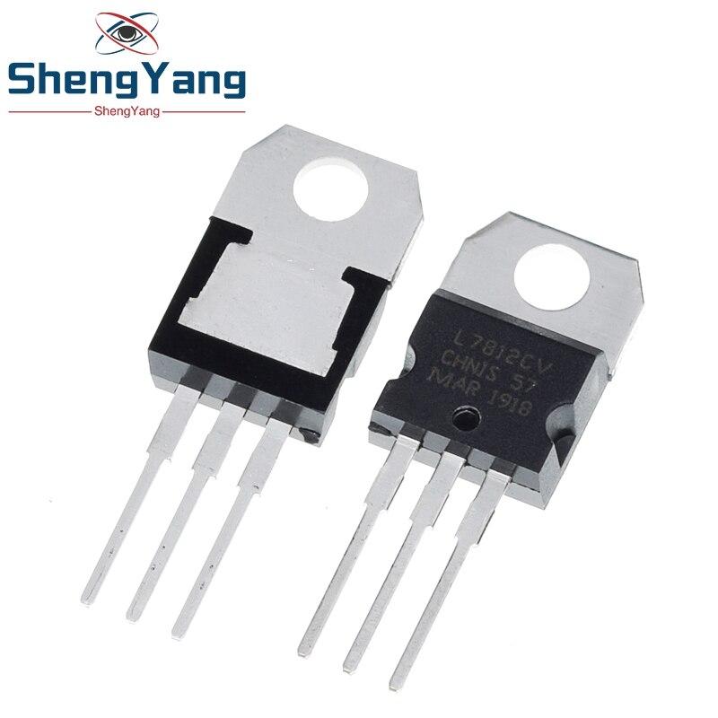 ShengYang – régulateur de tension 12 V 1,5 a à-220, 10 pièces, L7812CV L7812 KA7812 MC7812, nouveau et original