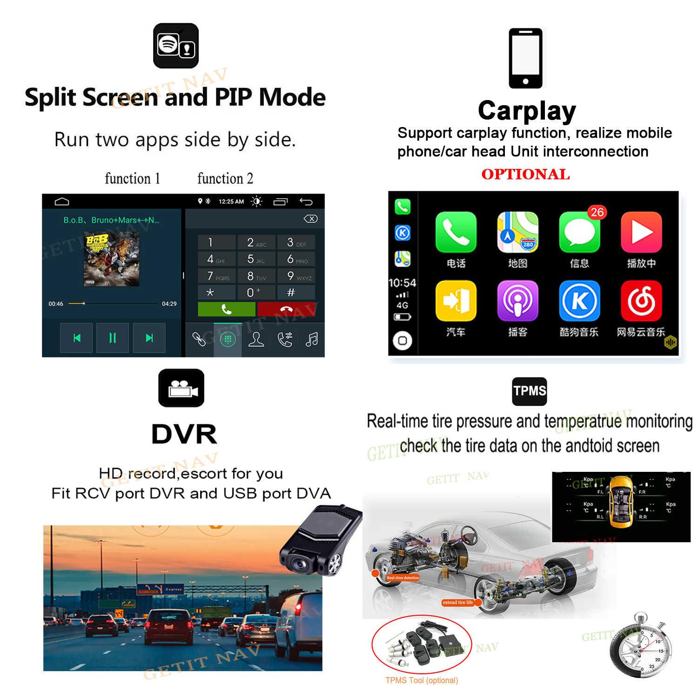 IPS souper écran Android 10 autoradio lecteur multimédia pour BMW X5 E53 E38 E39 GPS stéréo audio navigation sans unité de tête DVD
