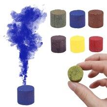 Волшебный цветной дымовой реквизит для фокусов забавная игрушка пиротехника дымовой торт туман маг Новый профессиональный инструмент кар...