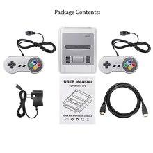 Giochi 621 integrati classic Super HDMI Mini Console di gioco HD 4K uscita TV lettore di giochi portatile famiglia TV SNES gioco retrò
