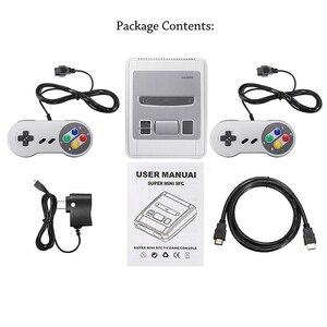Image 5 - Intégré 621 jeux classique Super HDMI Mini Console de jeu HD 4K sortie TV lecteur de jeu portable famille TV SNES rétro jeu