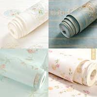 Pegatina DIY para casa de muñecas, juguete para niños, Mini muebles en miniatura, accesorios para muñecas, papel tapiz colorido