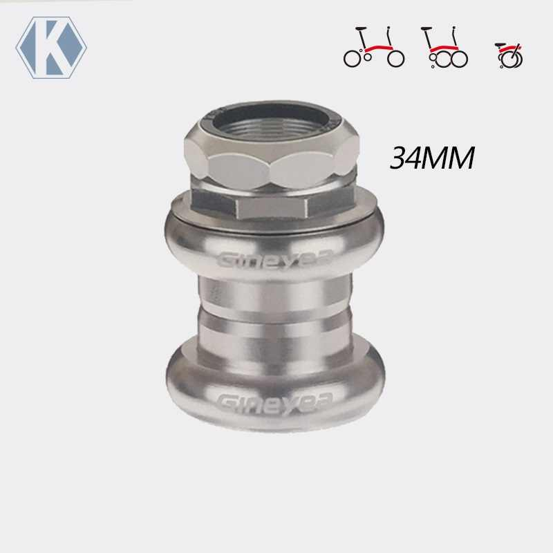 25.4mm 7 in 1 Bicycle Headset Threaded Mountain Headset Sealed Bearings Set