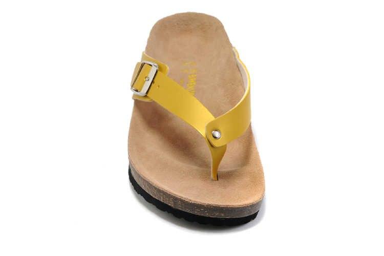 2019 Birkenstock EVA Arizona Gizeh ชายหาดฤดูร้อนใหม่ Cork รองเท้าแตะ Flip Flops รองเท้าแตะผู้หญิงผู้ชายสี Casual สไลด์รองเท้าแบน