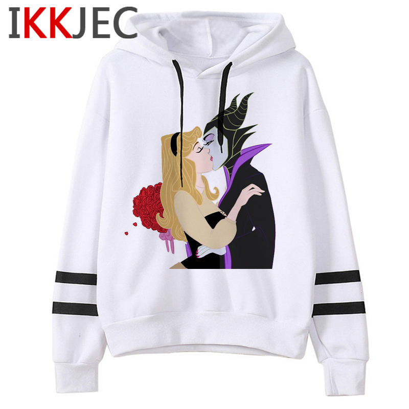 Aesthetic Harajuku Funny Cartoon Hoodies Women/men Grunge Princesses Vintage Sweatshirt 90s Graphic Fashion Hoody Female/male 35