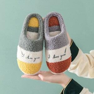 Winter Slippers Warm Fur Fluff